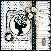 Marianne Design, Lady charleston, LR0140.