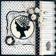 Marianne Design Marianne Design, Lady charleston, LR0140.