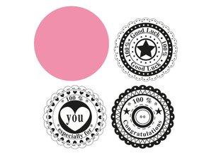 Marianne Design Marianne Design, Circle & the sentiments.