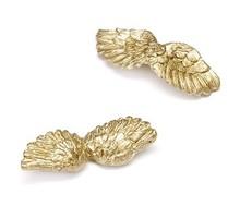 Embellishments / Verzierungen Angel wings, gold, 4.5 cm, 6 pcs.