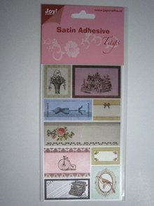 Joy!Crafts und JM Creation Satin Adhesive Tags, Vintage 4