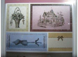 Joy!Crafts und JM Creation Satin Lim Tags, Vintage 4