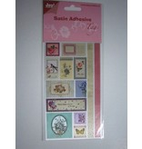 Joy!Crafts und JM Creation Satin Adhesive Tags, Vintage 5.