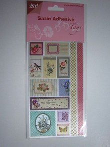 Joy!Crafts und JM Creation Satin Tag adesive, Vintage 5