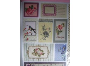Joy!Crafts und JM Creation Satin Adhesive Tags, Vintage 5
