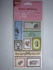 Joy!Crafts und JM Creation Satin Adhesive Tags, Vintage 1