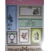 Joy!Crafts und JM Creation Satin Adhesive Tags, Vintage 1.