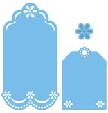 Marianne Design Stanz- und Prägeschablone: dekorative Labels