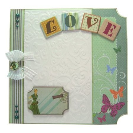 Joy!Crafts und JM Creation Line & Lene, Embossing Schablone A6. Hintergrund