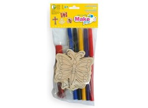 Kinder Bastelsets / Kids Craft Kits Craft Kit for Kids, wooden set.
