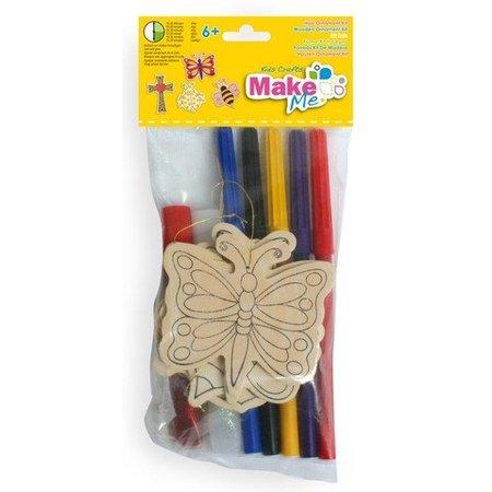 Kinder Bastelsets / Kids Craft Kits Kit del arte para niños, set de madera.