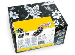 Kinder Bastelsets / Kids Craft Kits Craft Kit for Kids, Artbox sommerfugl.