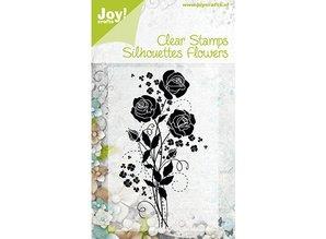 Joy!Crafts und JM Creation Joy Crafts, Clear frimærker, blomster 1