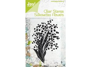Joy!Crafts und JM Creation Joy Crafts, Clear stamps, Flowers 2, 63x100mm.