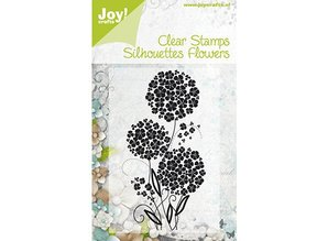Joy!Crafts und JM Creation Joy Crafts, Clear stamps, Flowers 3, 52x100mm.