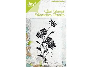 Joy!Crafts und JM Creation Joy Crafts, Clear stamps, Flowers 4, 47x100mm.