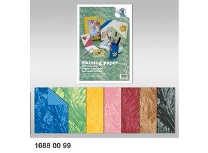 DESIGNER BLÖCKE  / DESIGNER PAPER Efecto Papel, papel brillante, 23 x 33 cm, 230 gr / m²