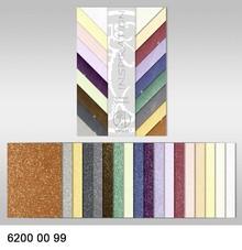 DESIGNER BLÖCKE  / DESIGNER PAPER Stjernelys Collection, 18 ark, 200 gr / kvm, trykt på begge sider med metallic effekt