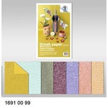 Effekt af papir, knuse papir, 21 x 33 cm, 120 gr / kvm,