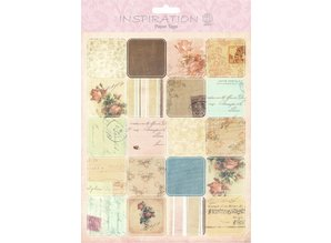 Embellishments / Verzierungen Etiquetas de papel, Escena 07