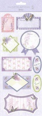 Sticker Klistermærker: for kort beslutningsproces, dekoration, etc., forskellige designs