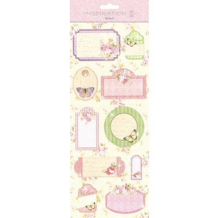 Embellishments / Verzierungen Pegatinas: de fabricación de la tarjeta, decoración, etc, varios motivos, N ° 08