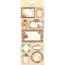 Sticker: zur Kartengestaltung, Verzierung usw., verschiedene Motive, Nr. 04