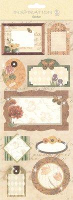 KARTEN und Zubehör / Cards Stickers: for kort at gøre, dekoration osv., forskellige motiver, nr. 04