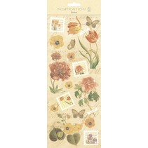 Sticker: zur Kartengestaltung, Verzierungen usw., verschiedene Motive