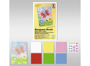 "Kinder Bastelsets / Kids Craft Kits Espuma Mosaico ""Butterfly"""