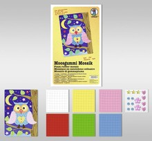 "Kinder Bastelsets / Kids Craft Kits Foam Mosaic ""Owl"""