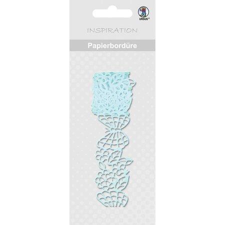 "Embellishments / Verzierungen Papierbordüre, ""lyseblå"", 16 mm, selvklæbende, 200 cm"