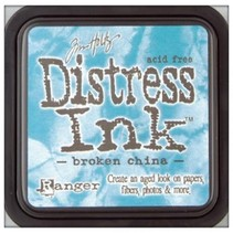 "Distress Ink ""broken china"""