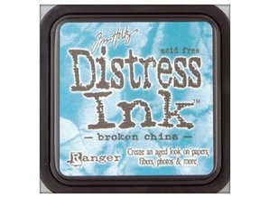 "Tim Holtz Inkpads Distress Ink ""brudt china"""