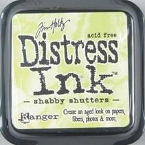 Stempelkissen Distress Ink.