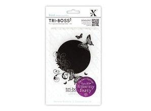 embossing Präge Folder Tri-Boss Emboss Folder (A6) - Strictly Party (Butterfly Aperture)