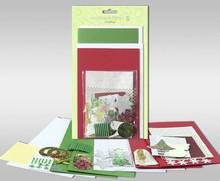 """Exlusiv Set di carte da personalizzare, """"inverno"""", di 4 carte, dimensioni 11,5 x 21 cm e 11,5 x 17 cm"""