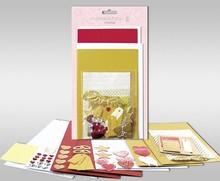 """KARTEN und Zubehör / Cards Set di carte per essere personalizzato, """"Love"""", per 4 carte, dimensioni 11,5 x 21 cm e 11,5 x 17 cm"""