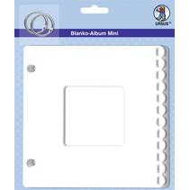"""Blank mini album, """"passe-partout"""", 800 gr / sqm, 6 sheets"""