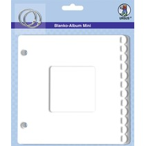 "Blank mini album ""passepartout"", 800 gr / kvm, 6 ark"