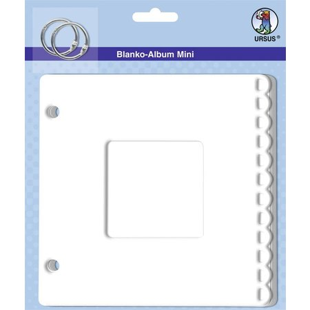 "Scrapbooking ... Blank mini album ""passepartout"", 800 gr / kvm, 6 ark"