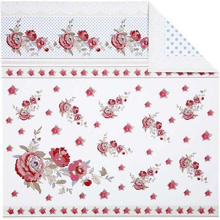 DESIGNER BLÖCKE  / DESIGNER PAPER Design papir, 30,5 x30, 5 cm, 5 ark