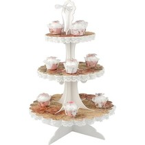 3D Cupcake Plateau