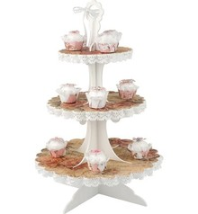 Objekten zum Dekorieren / objects for decorating 3D Cupcake plateau