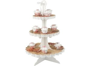 Objekten zum Dekorieren / objects for decorating Cupcake plateau 3D
