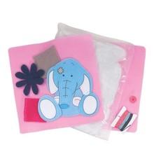 Kinder Bastelsets / Kids Craft Kits Felt Cushion - Toots - My Blue Nose Friends