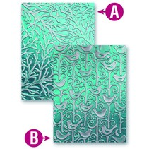 Prägeshablone plast M-Bossabilities med 2 motiver