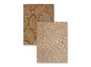 Spellbinders und Rayher Embossing folders, M-Bossabilities with 2 motifs