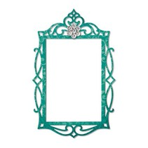 Sizzix, plantilla de corte, marco oval adornado, 13,97 x 11,11 cm - Copy