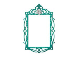 Sizzix Sizzix, cutting template, frame, Ornate Oval, 13.97 x 11.11 cm - Copy